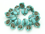 Czech Glass Beads 15mm (CZ1258)