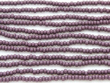 Purple Glass Seed Beads - 8/0 (SB124)