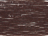 Dark Brown Glass Seed Beads - 11/0 (SB138)