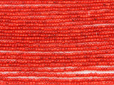 Red Silver Line Glass Seed Beads - 11/0 (SB142)