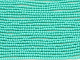 Turquoise Green Glass Seed Beads - 11/0 (SB155)