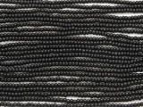 Black Glass Seed Beads - 11/0 (SB169)