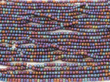 Purple Jeweltone Metallic Glass Seed Beads - 10/0 (SB181)