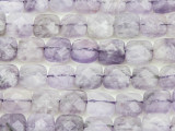 Amethyst Faceted Tabular Gemstone Beads 9mm (GS4378)