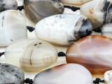 Botswana Agate Nugget Gemstone Beads 25-40mm (GS4384)