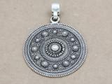 Ornate Medallion Pendant 50mm (AP1926)