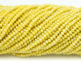 Yellow Crystal Glass Beads 2mm (CRY426)