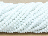 White Crystal Glass Beads 4mm (CRY445)
