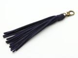 "Blue Leather Tassel - 5"" (LR87)"
