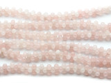 Rose Quartz Barbell Gemstone Beads 12mm (GS4499)
