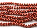 Brecciated Jasper Barbell Gemstone Beads 12mm (GS4500)