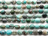 Chrysocolla Nugget Gemstone Beads 7-12mm (GS4527)