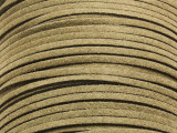 """Olive Green Suede Leather Lace 2.5mm - 36"""" (LR102)"""