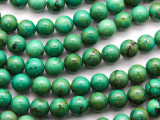 Green Turquoise Round Beads 10mm (TUR1313)