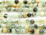 Prehnite Round Gemstone Beads 8mm (GS4629)