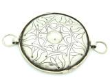 Afghan Tribal Silver Pendant - Amulet 91mm (AF774)