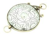 Afghan Tribal Silver Pendant - Amulet 106mm (AF778)
