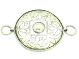 Afghan Tribal Silver Pendant - Amulet 97mm (AF788)