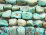 Turquoise Large Nugget Beads 11-22mm (TUR1329)