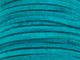 """Turquoise Suede Leather Lace 3mm - 36"""" (LR110)"""