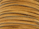 """Tan Suede Leather Lace 3mm - 36"""" (LR113)"""