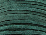 """Emerald Green Suede Leather Lace 3mm - 36"""" (LR114)"""