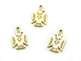Gold Eagle - Pewter Pendant 18mm (PW1196)