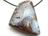 Boulder Opal Pendant 32mm (BOP334)