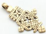 Coptic Cross Pendant - 59mm (CCP674)