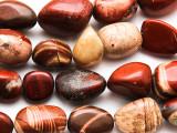 Red Jasper Nugget Gemstone Beads 19-26mm (GS4728)