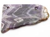Amethyst Gemstone Slab Pendant (GSP2352)