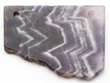Amethyst Gemstone Slab Pendant (GSP2353)