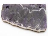 Amethyst Gemstone Slab Pendant (GSP2355)