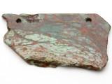 Australian Green Opal Gemstone Slab Pendant (GSP2377)