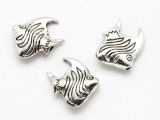 Pewter Bead - Angelfish 21mm (PB879)