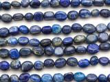 Lapis Lazuli Nugget Gemstone Beads 7-10mm (GS4789)