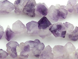 Amethyst Crystal Gemstone Beads 10-23mm (GS4804)