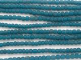 Antiqued Blue Graduated Glass Beads 3-5mm (JV1292)