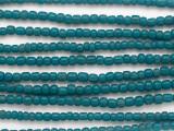 Teal Blue Graduated Glass Beads 3-5mm (JV1295)