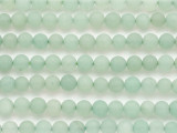 Matte Aventurine Round Gemstone Beads 6mm (GS4834)