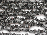 "Hematite Chip Gemstone Beads 4-12mm - 32"" Strand (GS4837)"