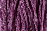 "Lilac Purple Hand Stitched Silk Fairy Ribbon 42"" (SK1028)"