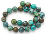 Turquoise Round Beads 16mm (TUR1387)