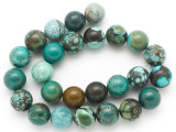 Turquoise Round Beads 16mm (TUR1388)