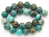 Turquoise Round Beads 16mm (TUR1394)