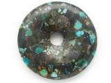 Turquoise Donut Pendant 47mm (TUR1372)