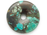 Turquoise Donut Pendant 47mm (TUR1376)