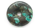 Turquoise Donut Pendant 47mm (TUR1377)