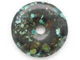 Turquoise Donut Pendant 46mm (TUR1384)