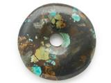 Turquoise Donut Pendant 47mm (TUR1385)